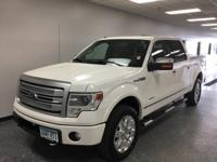 Oxford White 2014 Ford F-150 Platinum 4WD 6-Speed