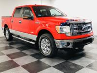 CARFAX One-Owner. Race Red 2014 Ford F-150 XLT 4WD