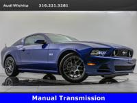 2014 Ford Mustang GT, located at Audi Wichita. Original