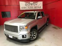 THIS IS A 2014 GMC SIERRA CREW CAB 4WD SLT EQUIPPED