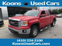2014 GMC Sierra 1500 Fire Red SLE 6-Speed Automatic