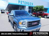 Our 2014 GMC Sierra 1500 SLT Crew Cab 4X4 in Blue