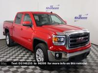 Fire Red 2014 GMC Sierra 1500 SLE Z-71 4WD 6-Speed