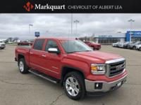 Fire Red 2014 GMC Sierra 1500 SLT 4WD 6-Speed Automatic