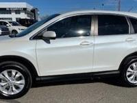 White 2014 Honda CR-V EX AWD 5-Speed Automatic 2.4L I4