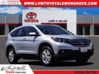 2014 Honda CR-V EX-L AWD 5-Speed Automatic 2.4L I4 DOHC