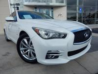 2014 INFINITI Q50 PREMIUM, MOONLIGHT WHITE,