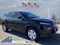 2014 Jeep Cherokee Sport 4WD Brilliant Black Crystal