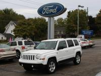 2014 Jeep Patriot Latitude Bright White Clearcoat