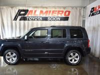 This 2014 Jeep Patriot Sport in Maximum Steel Metallic