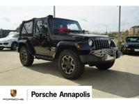 Black Clearcoat 2014 Jeep Wrangler Sahara 4WD 6-Speed
