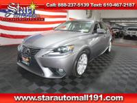 Clean CARFAX. Gray 2014 Lexus IS 250 AWD