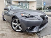 2014 LEXUS IS 350 Color Blind Spot Monitor w/Rear Cross