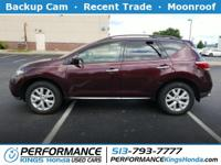 Features include: Backup Cam, Moonroof, Recent Trade,
