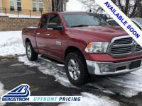 2014 Ram 1500 Big Horn 4WD Deep Cherry Red Crystal