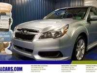 2014 Subaru Legacy 2.5i 24/32 City/Highway MPGCall to