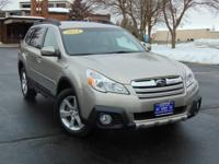This Subaru Outback 2.5i Limited is a great pre-owned