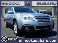 Load your family into the 2014 Subaru Outback! This