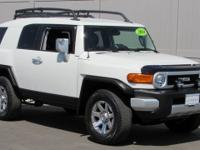 White 2014 Toyota FJ Cruiser 4WD 5-Speed Automatic 4.0L