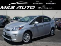 Our 2014 Toyota Prius Plug-in Hatchback is presented in