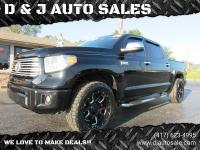 ONE OWNER - LOCAL TRADE IN- 2014 Toyota Tundra Platinum