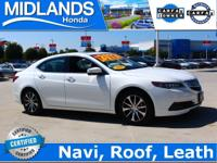 2015 Acura TLX 2.4L w/Technology Package 2.4L DOHC 16V