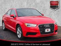 Brilliant Red 2015 Audi A3 2.0T Premium Plus quattro