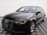 Sharp Mythos Black Metallic sedan with quattro AWD, a