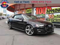quattro, Black w/Leather Seating Surfaces. CARFAX