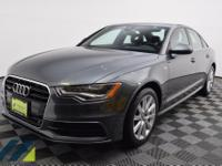 Has Audi Care prepaid maintenence! Daytona Gray Pearl