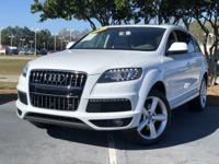 We are excited to offer this 2015 Audi Q7. Drive home