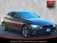 Melbourne Red Metallic 2015 BMW 3 Series 335i xDrive