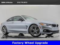 2015 BMW 435i, located at BMW of Wichita. Original MSRP