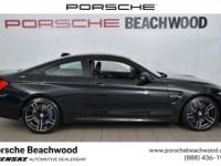 This 2015 M4 has the coveted manual transmission, a