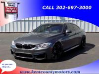 Gray 2015 BMW M4 Base 6-Speed Automatic 3.0L I6 ABS