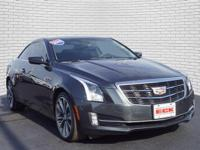 Gray 2015 Cadillac ATS 2.0L Turbo Performance AWD