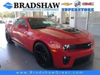 Recent Arrival! Red Hot 2015 Chevrolet Camaro ZL1 KBB