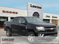 BACKUP CAMERA, 4WD.2015 Chevrolet Colorado Z71 4D Crew