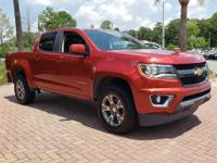 red rock metallic 2015 Chevrolet Colorado Z71 RWD