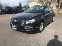 2015 Chevrolet Cruze 1LT 1LT FWD Black Granite Metallic