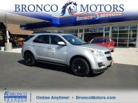 New Price! Silver 2015 Chevrolet Equinox LT 1LT AWD