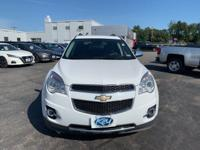 Summit White 2015 Chevrolet Equinox LTZ AWD 6-Speed