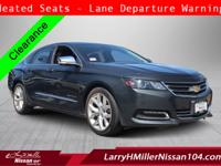 Check out this gently-used 2015 Chevrolet Impala we