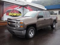 This 2015 Chevrolet Silverado 1500 LS features a hill