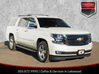 White Diamond Clearcoat 2015 Chevrolet Suburban LTZ 4WD