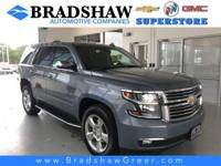 Slate Gray Metallic 2015 Chevrolet Tahoe LTZ KBB Fair