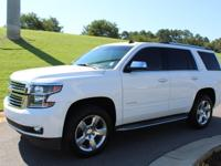 Summit White 2015 Chevrolet Tahoe LTZ RWD 6-Speed