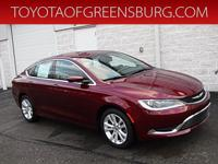 Velvet 2015 Chrysler 200 Limited FWD 9-Speed 948TE