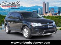 Pitch Black Clearcoat 2015 Dodge Journey SXT AWD