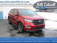 Ruby Red Metallic Tinted Clearcoat 2015 Ford Edge Sport